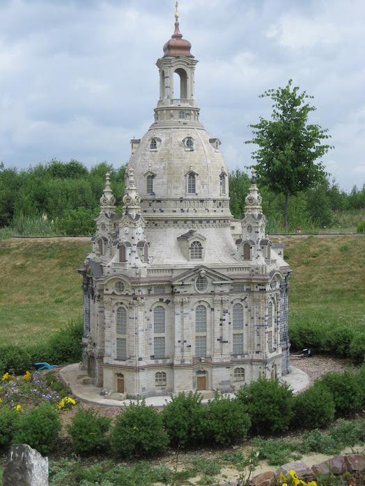Парк миниатюр в Германии - Miniwelt Lichtenstein, Sachsen. 57271