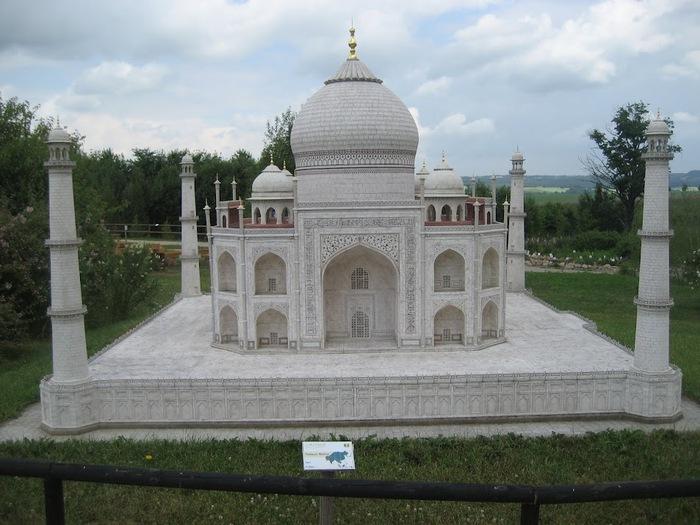 Парк миниатюр в Германии - Miniwelt Lichtenstein, Sachsen. 66134