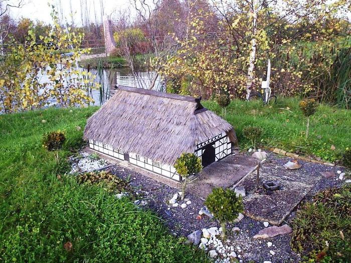 Парк миниатюр в Германии - Miniwelt Lichtenstein, Sachsen. 25194