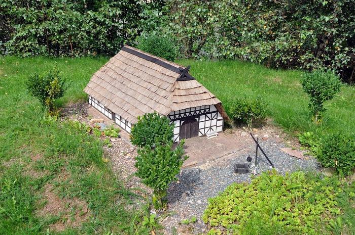 Парк миниатюр в Германии - Miniwelt Lichtenstein, Sachsen. 97123