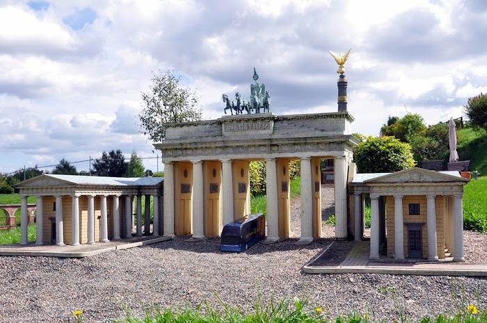 Парк миниатюр в Германии - Miniwelt Lichtenstein, Sachsen. 99872