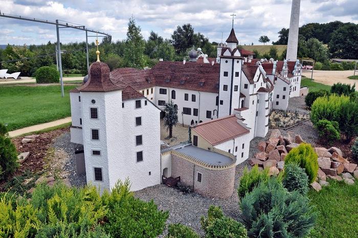 Парк миниатюр в Германии - Miniwelt Lichtenstein, Sachsen. 28338