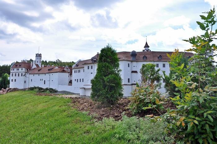 Парк миниатюр в Германии - Miniwelt Lichtenstein, Sachsen. 15886