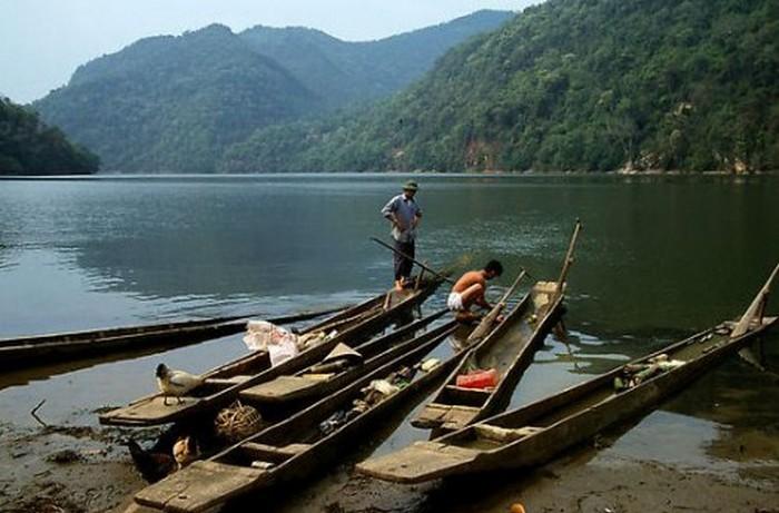 Достопримечательности Вьетнама - озера Ба Бе 12 (700x461, 81Kb)