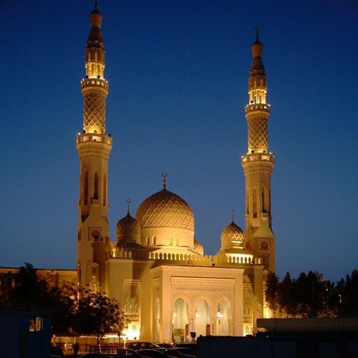 Мечеть Джумейра - жемчужина Дубай 1 (700x699, 85Kb)