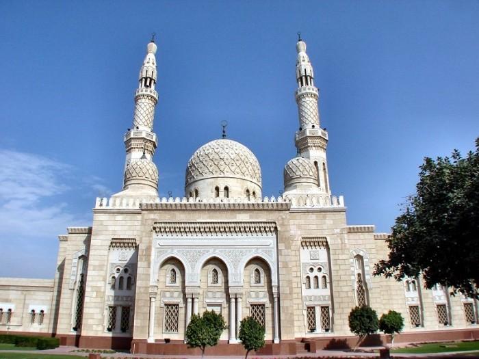 Мечеть Джумейра - жемчужина Дубай 11 (700x525, 102Kb)