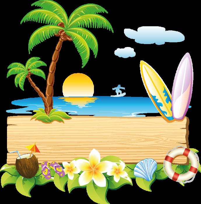 """Клипарт """" Лето,пляж,отпуск """". Обсуждение на LiveInternet ..."""