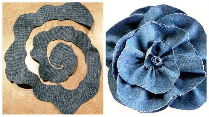 Как сделать из джинсовой ткани 974