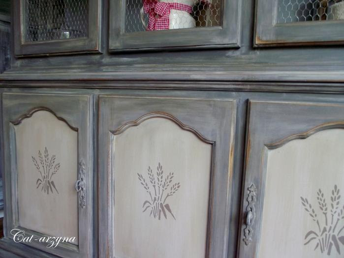 Декупаж мебельной стенки салфетками своими руками 45