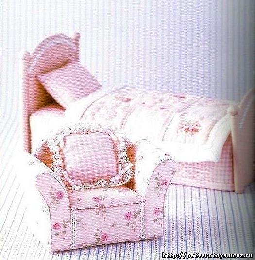 Кресла для кукол своими руками