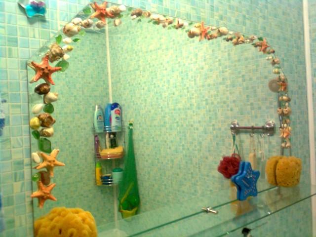 как украсит ванную своими руками фото