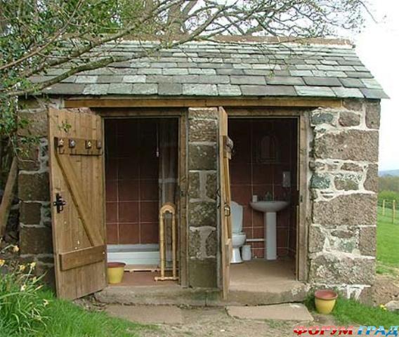 Как правильно построить дачный туалет.