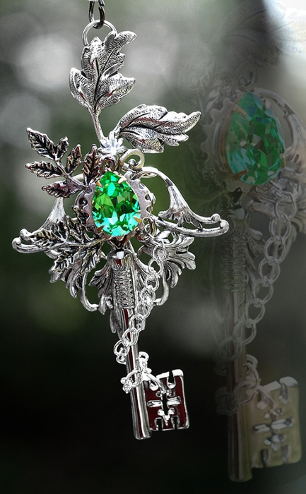 By. Nature's Spirit Key Necklace. KeypersCove. 147 Comments.