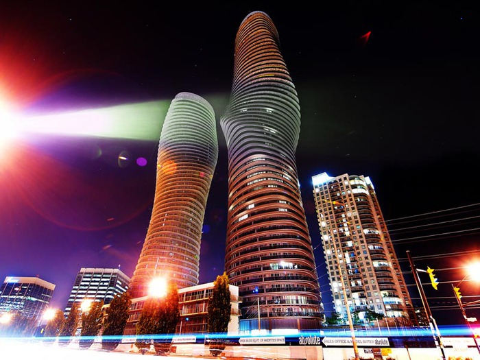 башни Абсолют Тауэрс фото 4 (700x525, 117Kb)