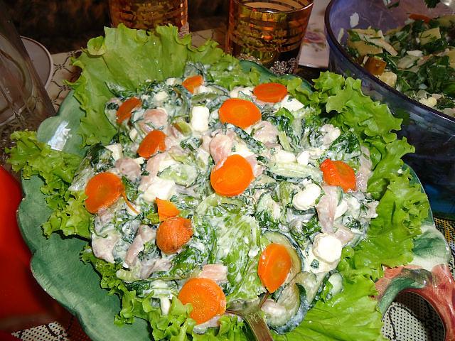 Горячий салат из морепродуктов рецепты с фото