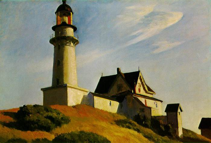 Edward Hopper The Lighthouse at Two Lights (700x475, 38Kb) .