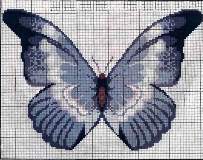 И ещё бабочка - это любовь и радость, а две бабочки - супружеское счастье.
