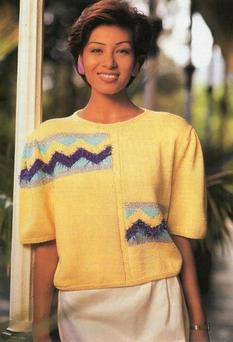 Цветные Пуловеры