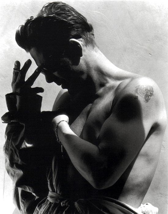 Грег Горман и его черно-белые портреты знаменитостей 23 (549x700, 132Kb)
