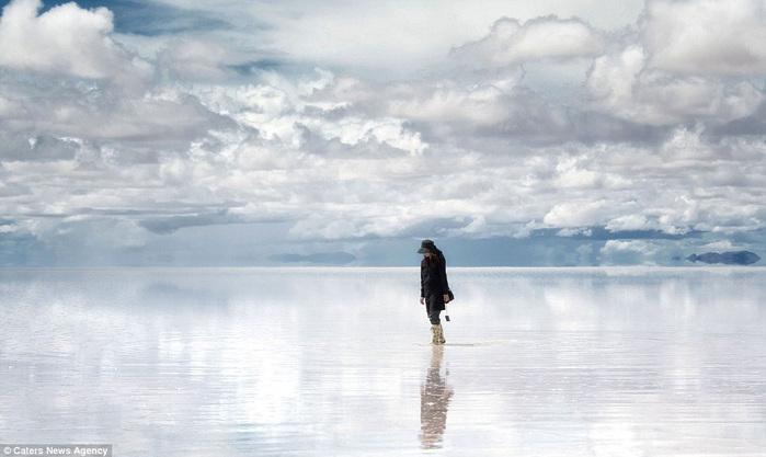 соляное озеро в боливии 4 (700x417, 87Kb)