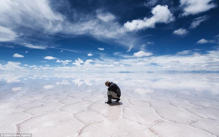 соляное озеро в боливии 5 (700x437, 110Kb)