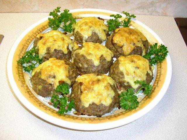Мясная ватрушка с грибами рецепт