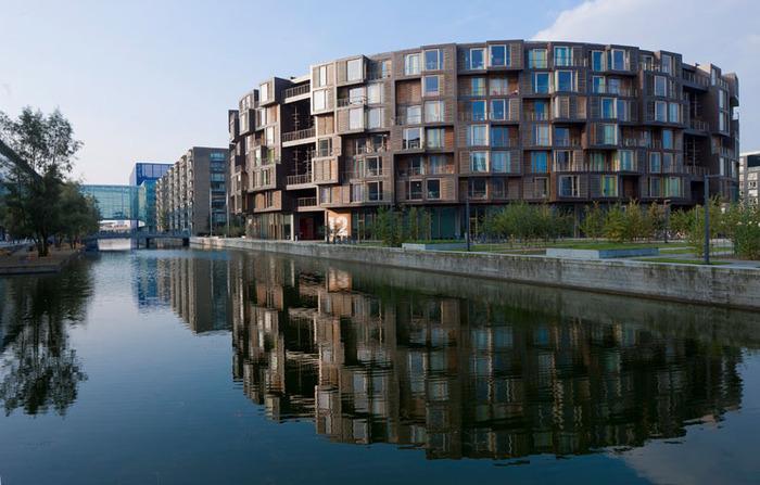 студенческое общежитие в Копенгагене фото (700x447, 120Kb)