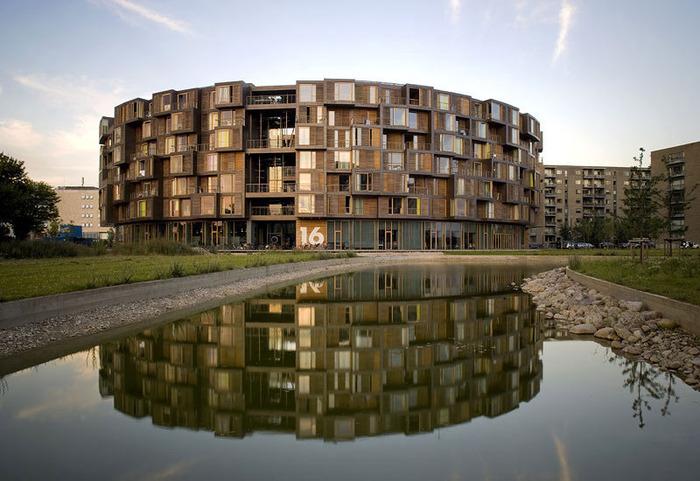 студенческое общежитие в Копенгагене фото 1 (700x481, 120Kb)