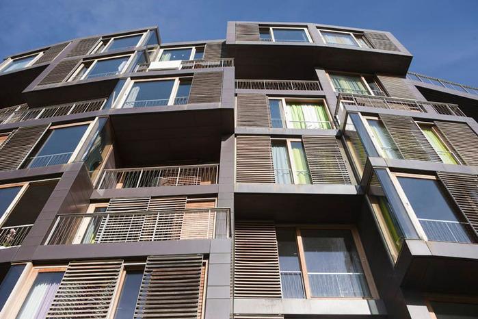 студенческое общежитие в Копенгагене фото 3 (700x466, 133Kb)