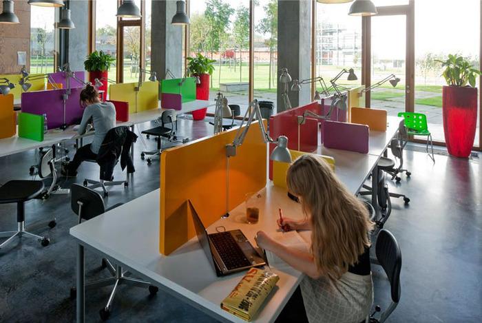 студенческое общежитие в Копенгагене фото 6 (700x469, 132Kb)