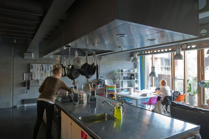 студенческое общежитие в Копенгагене фото 9 (700x466, 107Kb)