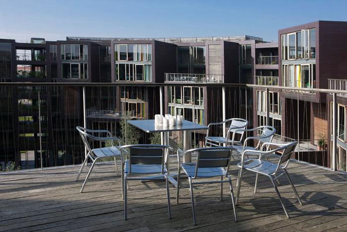 студенческое общежитие в Копенгагене фото 11 (700x469, 128Kb)