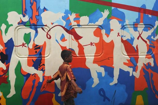 Красная лента, Калькутта, 27 июля 2012 года