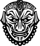 ������ 3328374-556115-ancient-tribal-black-mask-isolated-on-white-background-vector-illustration (414x480, 63Kb)