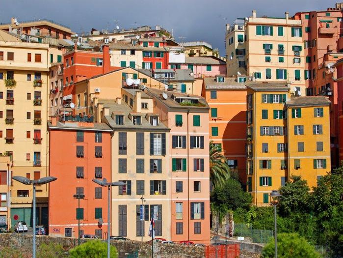 Генуя - мечта поэта: часть 4-Улочки 32210