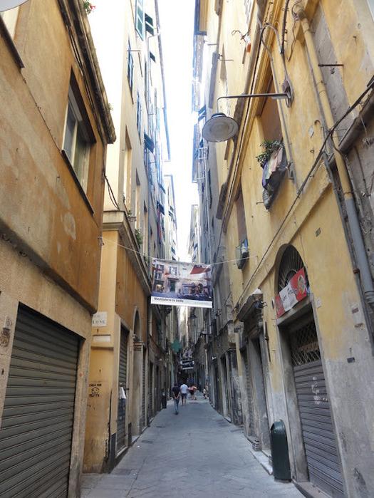 Генуя - мечта поэта: часть 4-Улочки 40451