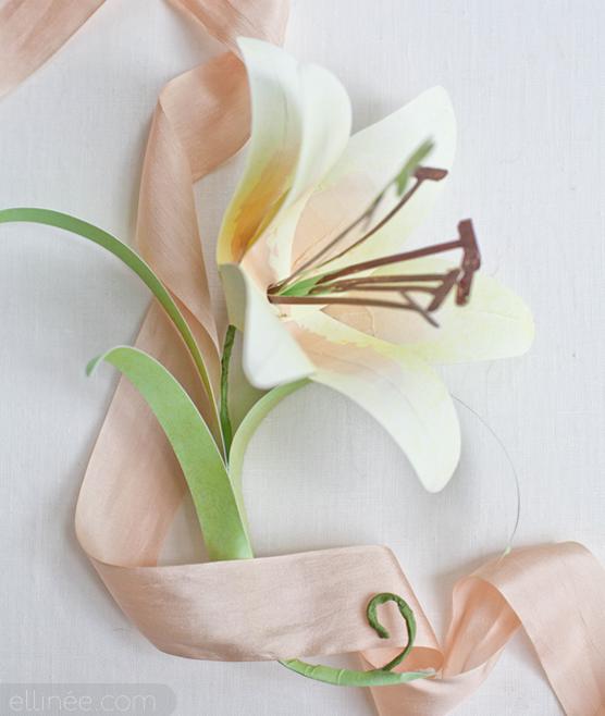Лилия цветок своими руками