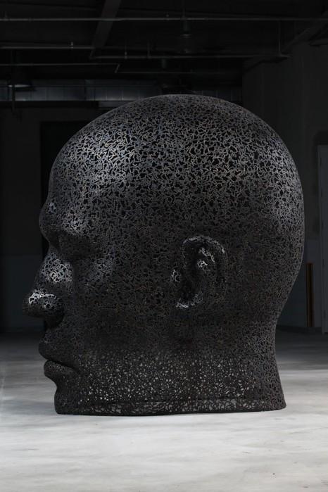 скульптуры из велосипедных цепей 1 (466x700, 79Kb)