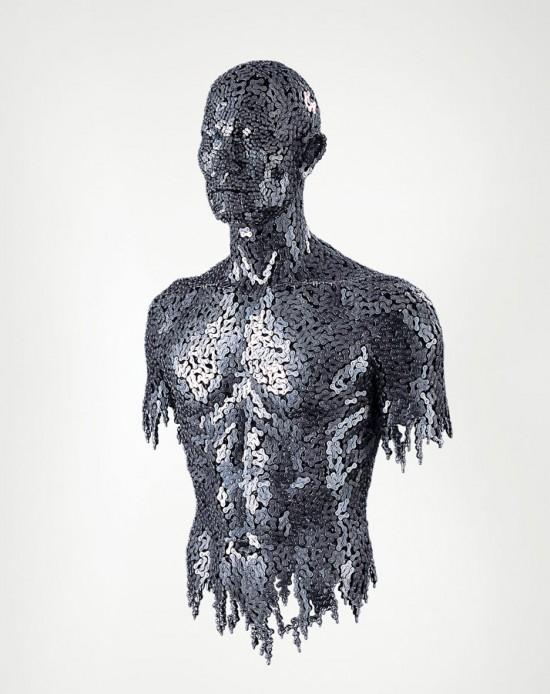 скульптуры из велосипедных цепей 5 (550x694, 71Kb)