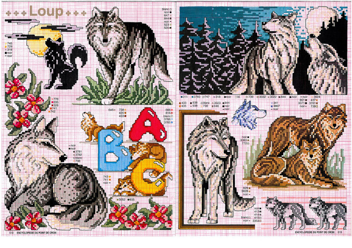 волки (700x495, 614Kb)