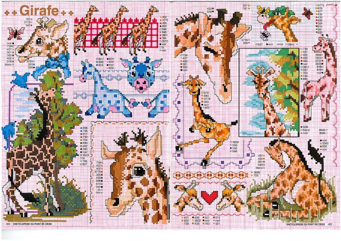жирафы (700x495, 652Kb)