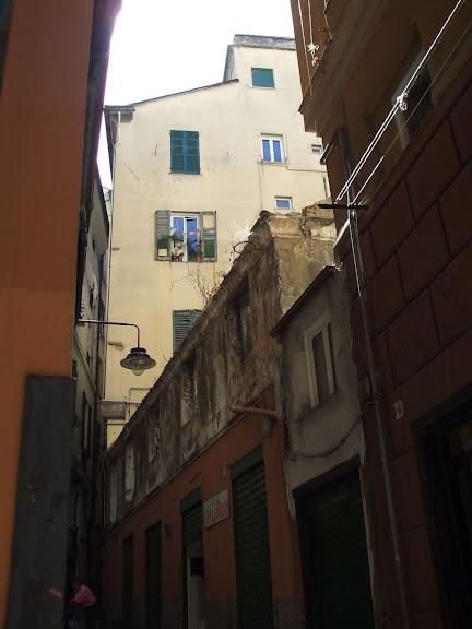 Генуя - мечта поэта: часть 4-Улочки 72018
