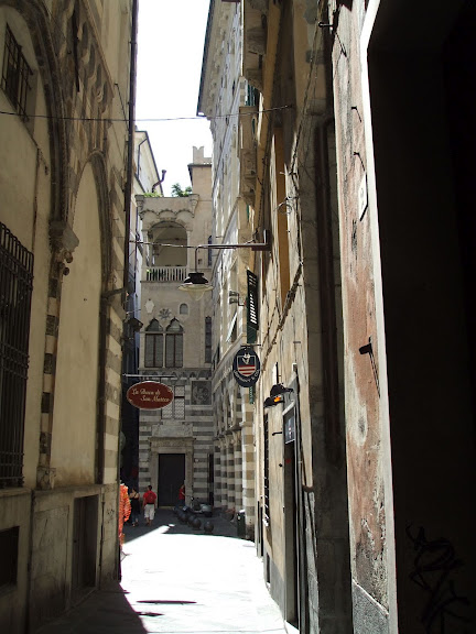 Генуя - мечта поэта: часть 4-Улочки 28756