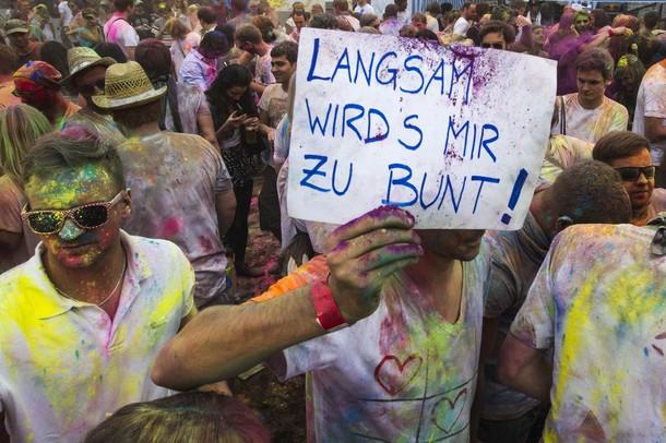 Холи фестиваль в Берлине, 29 июля 2012 года.