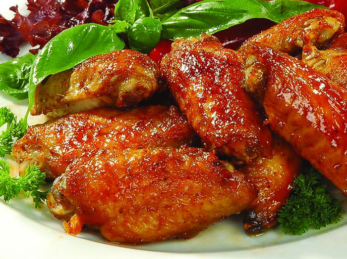 Куриные крылышки на решетке в духовке рецепт