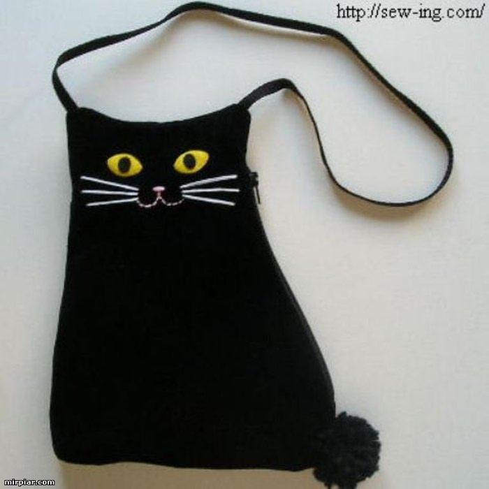 Чёрный кот своими руками