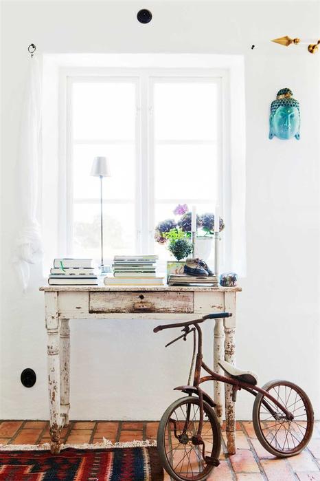 красивые фото подборки,ретро,винтажный интерьер,велосипед
