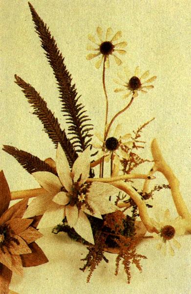 Цветы своими руками для икебаны ты позволяешь