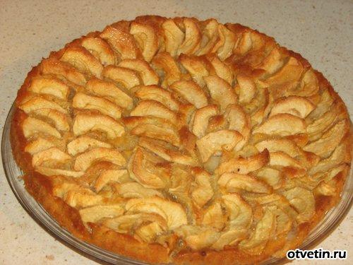 рецепты выпечки из яблок с фото