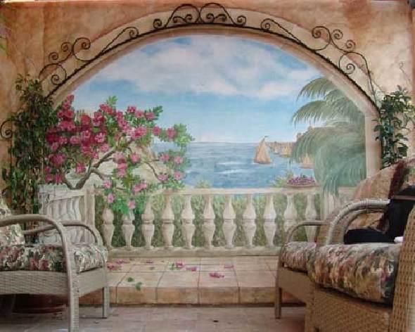 Фреска домашних условиях